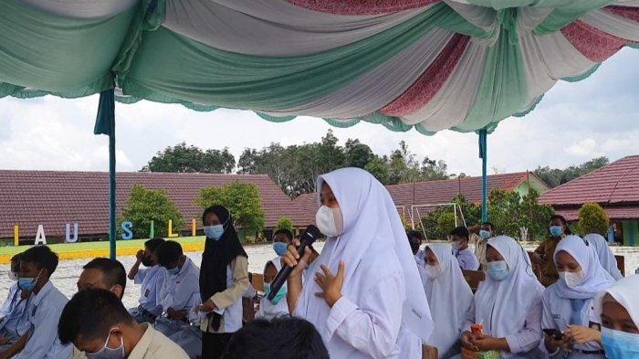 Dikunjungi Wakil DPRD Bangka Belitung, Siswi Ini Berani Sampaikan Aspirasi Hingga Minta Beasiswa