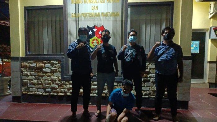 Dikejar Hingga ke Banten, Pencuri Handphone Ini Dicokok Tim Cobra Polres Bangka Tengah Saat Mandi