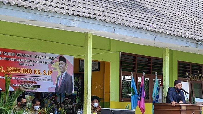 Jawarno Serap Aspirasi Kunjungi SMAN 1 Mendobarat