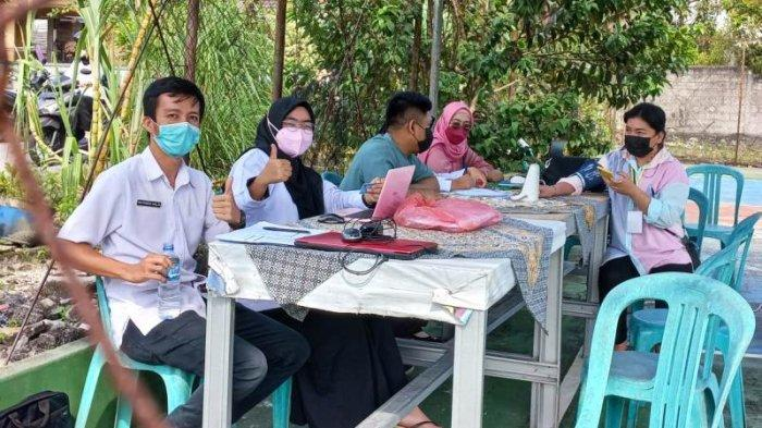 Warga Disuntik Vaksin Usai Pilih Kepala Desa, 33 TPS di Pilkades Bangka Buka Gerai Vaksinasi