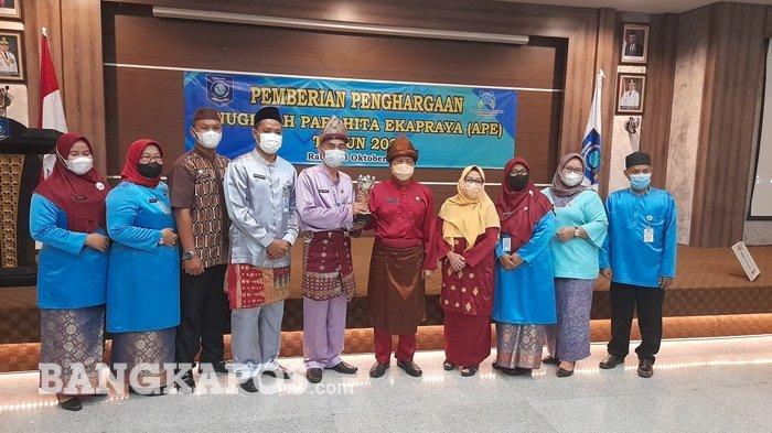 Pemprov Bangka Belitung Berhasil Mendapatkan Anugerah Parahita Ekapraya Kategori Madya