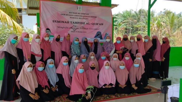 Tingkatkan Kualitas Hafalan Mahasantri, Ma'had Al-Jami'ah IAIN SAS Bangka Belitung Gelar Seminar
