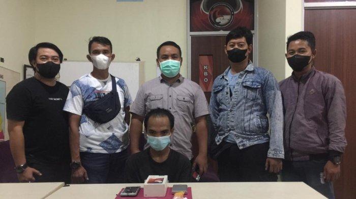 Simpan Puluhan Paket Sabu Dalam Kotak Handphone, Warga Pangkalpinang Diamankan Polisi