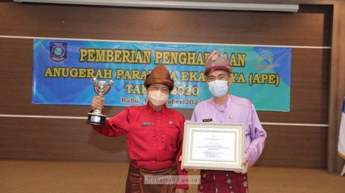 Pemprov Babel Terima Penghargaan Anugerah Parahita Ekapraya 2020 oleh KemenPPA