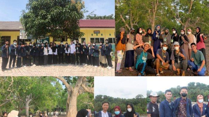 Gali Potensi Desa, Mahasiswa KKN IAIN  SAS Bangka Belitung 'Natak' Tapak Tilas di Tanjung Pura