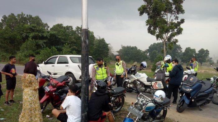 Buntut Aksi Trek-trekan di Taman Dealova, 40 Kendaraan Ditahan Sebulan