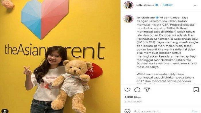 Fellicia Tissue bangkit bersinar meski di-ghosting Kaesang Pangarep