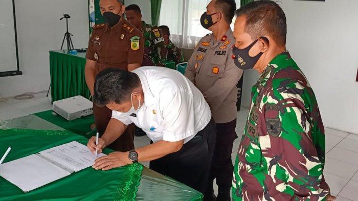 Kodim 0431/Bangka Barat Siap Salurkan Bantuan Kepada 1.500 PKL dan Warung
