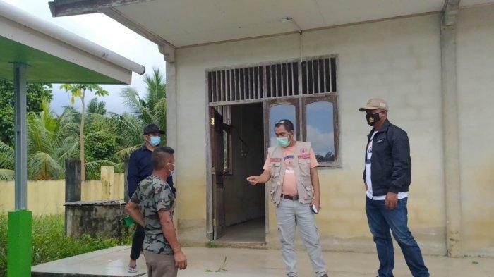 Relawan Covid-19 Simpul Babel Turut Serta Cek Kesiapan Rumah Karantina di Air Bara dan Delas
