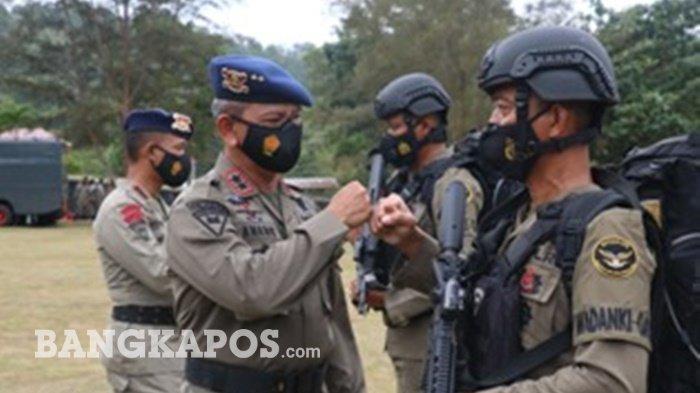 100 Personel Brimob Bangka Belitung BKO ke Papua, Ini pesan Kapolda