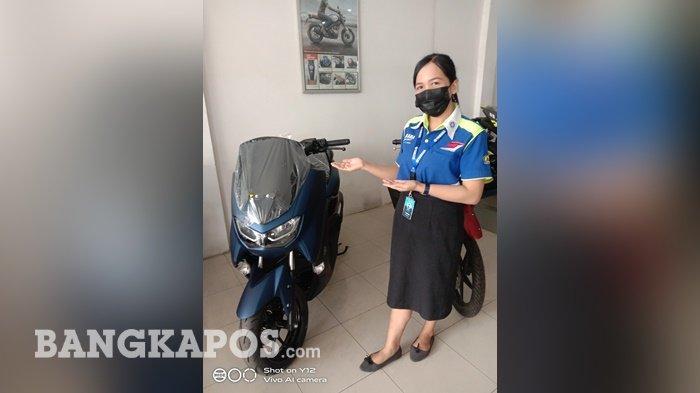Ling-Ling Sales Counter Yamaha Bukit Intan memperlihatkan motor Yamaha NMax
