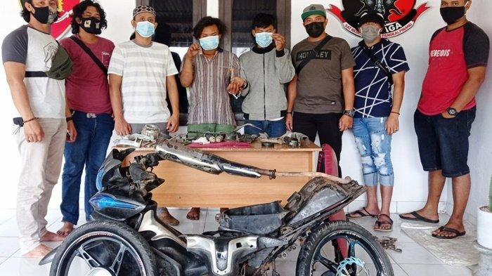 Tim Naga Polres Pangkalpinang Ringkus Dua ABG Pencuri Motor, Sempat Konsumsi Narkoba
