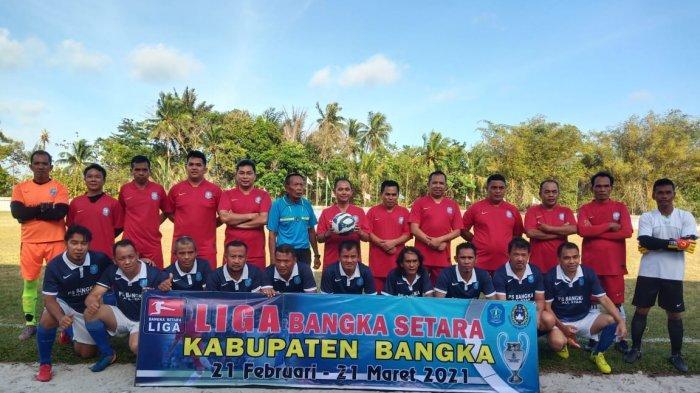 Pemkab Bangka bersama Askab PSSI Bangka dan KONI Kabupaten Bangka menggelar Liga Bangka Setara Tahun 2021 yang diikuti 24 Tim Sepakbola dibuka secara resmi Bupati Bangka Mulkan di Stadion Orom Sungailiat, Minggu (21/02/2021) sore.