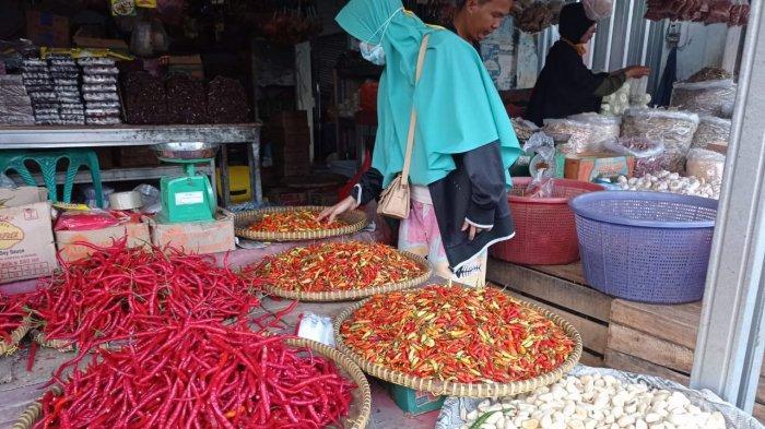 Harga Cabai Melonjak, Disperindag Pangkalpinang Sebut Suplai dari Luar Daerah Berkurang
