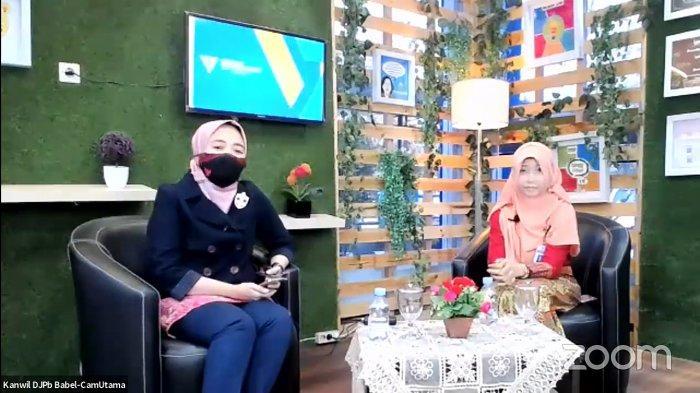 DJPb Bangka Belitung Gelar Talkshow Perbendaharaan Sehat Gerakan 5 M dan Vaksinasi Covid-19