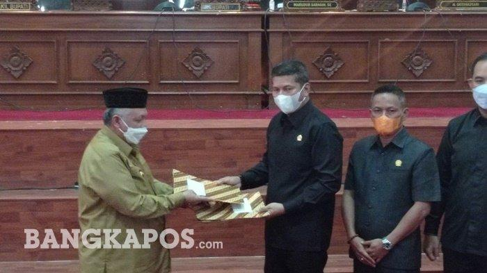 RPJMD DPRD Kabupaten Bangka Barat, Sampaikan 12 Rekomendasi Untuk Pemkab Bangka Barat