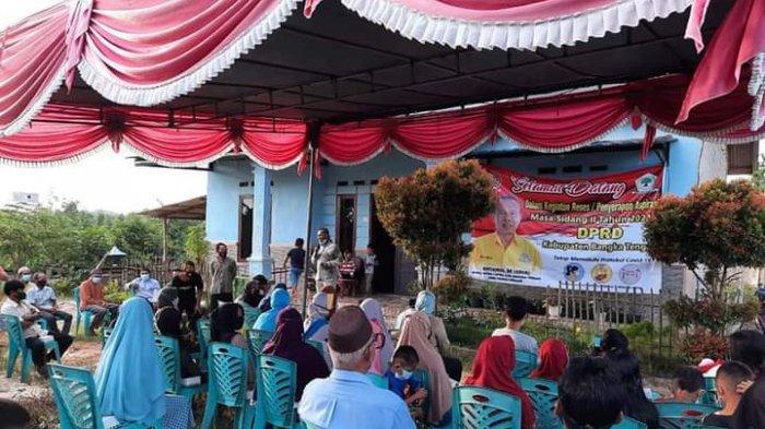 Gelar Reses, Wakil Ketua I DPRD Bangka Tengah Jaring Asmara, Prioritaskan Pembangunan Infrastruktur