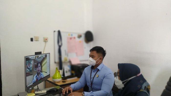 Jaksa Pengacara Negara Kejari Bangka Barat Ikuti Virtual In House Training