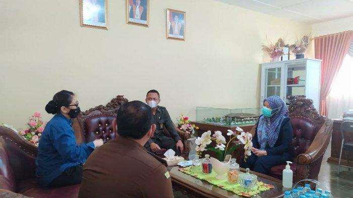 Tingkatkan Sinergitas, Kejari Bangka Barat Silaturahmi dan Koordinasi ke Pengadilan Negeri Muntok