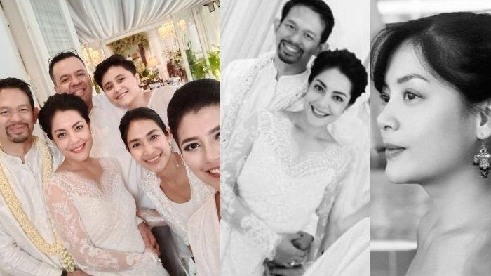 Lulu Tobing diperistri Bani Mulia, cucu raja kapal Indonesia (instagram @lutob / @happysalma)