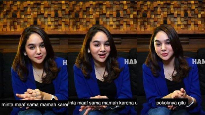Video Hana Hanifah Minta Maaf Kepada Mama Tercinta hingga Singgung Hubungan dengan Kriss Hatta