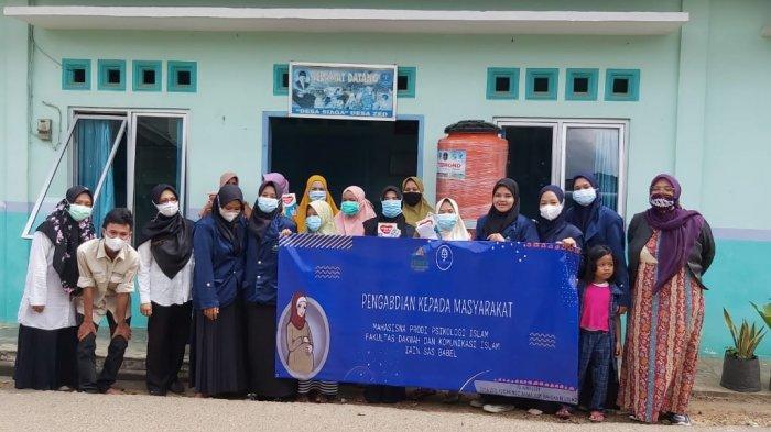 Prodi Psikologi Islam IAIN SAS Babel Melaksanakan Pengabdian Masyarakat di Desa Petaling dan Zed