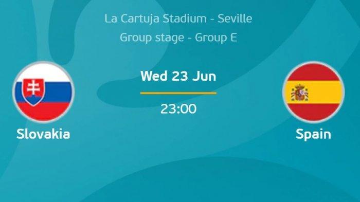 Preview EURO 2020 Slovakia Vs Spanyol, La Roja yang Lapar Kemenangan Terancam Tak Lolos