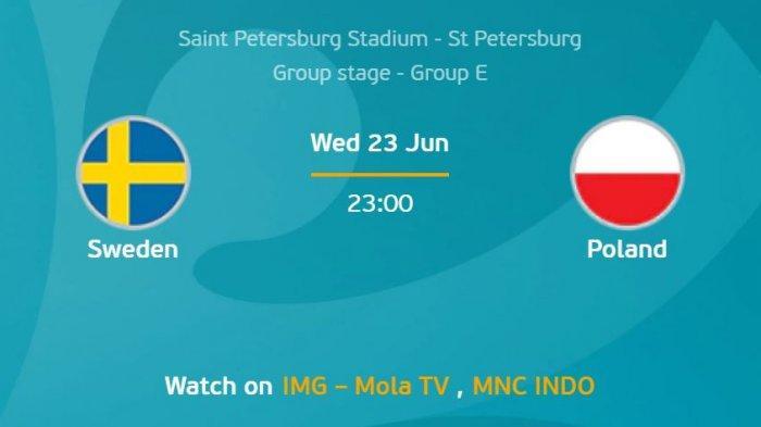 Preview EURO 2020 Swedia Vs Polandia, Akankah Robert Lewandowski Membalikkan Keadaan