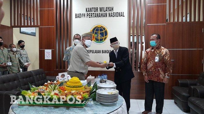Kanwil BPN Bangka Belitung Gelar Peringatan Hari Agraria dan Tata Ruang, Dukung Pemulihan Ekonomi