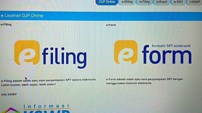 Cara Mengisi Laporan Spt Pajak Online E Filing Login Di Djponline Pajak Go Id Bangka Pos