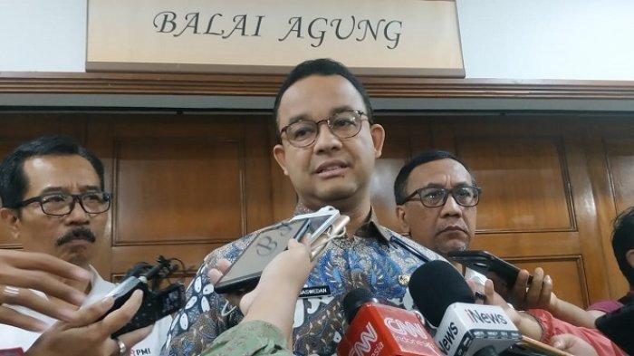Diminta Mundur dari Jabatan Gubernur, Anies Baswedan Sebut Banjir Jakarta Sudah Surut