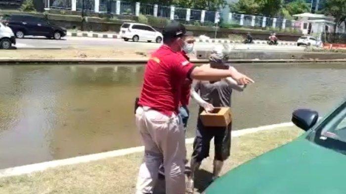 Manusia Silver yang Ditangkap Satpol PP Ternyata Pensiunan Polisi, Kapolda Langsung Lakukan Ini