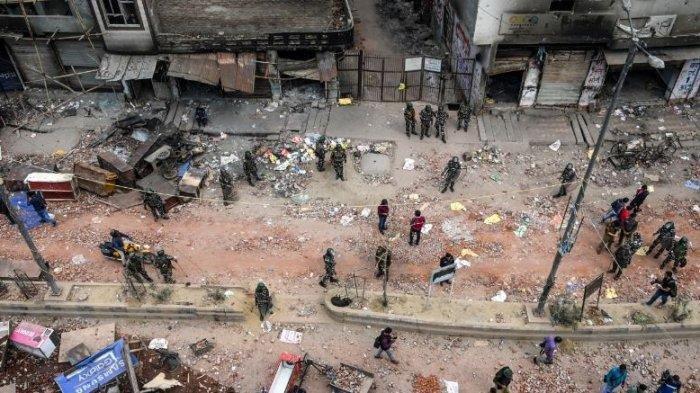 Kekerasan Terhadap Muslim India, Yasmin Tak Henti Meneteskan Air Mata saat Menunggu Jasad Sepupunya