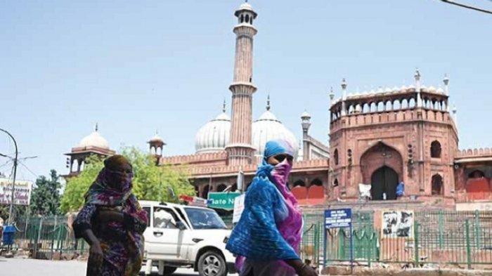 'Tsunami' Covid-19 di India, Pemerintah India Gunakan Masjid untuk Bangsal Penanganan Pasien Corona
