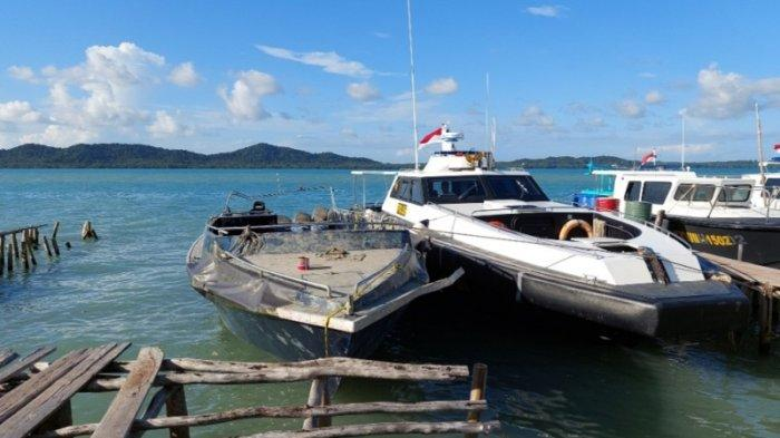 Kapal Hantu Hasil Buruan Polda Babel Sedang Diperbaiki, Akan Dibawa ke Dermaga Ditpolair