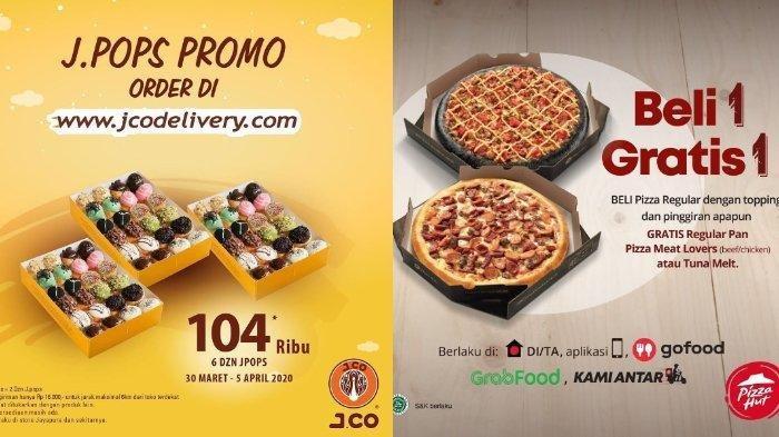 Promo KFC, Mc Donald hingga Pizza Hut, #DiRumah Aja Pesan Menu Tinggal Diantar
