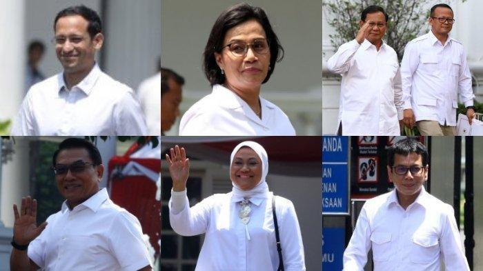 INFO TERBARU -- Hingga Selasa Malam, Ini 32 Nama Calon Menteri Jokowi Kabinet Kerja Jilid II