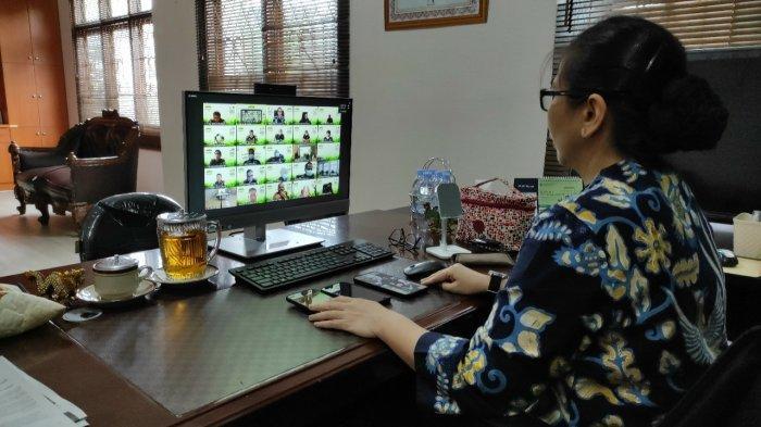 Kejari Babar Ikuti Pelatihan Kolaboratif Bersama Kementerian Lingkungan Hidup RI