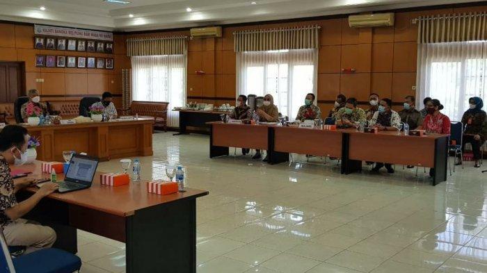 Kajari Bangka Barat Menghadiri Kegiatan Supervisi Dan Sosialisasi Peraturan Kejaksaan RI