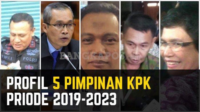 Profil 5 Pimpinan KPK Terpilih Priode 2019-2023