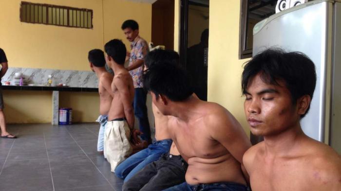 Beraksi di Pangkalpinang, Enam Begal Asal Sumsel Diringkus Polisi