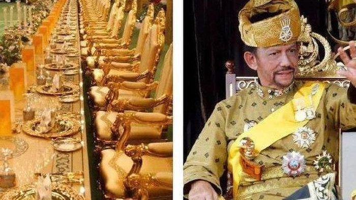 POTRET Megahnya Istana Nurul Iman Hunian Sultan Brunei Darussalam
