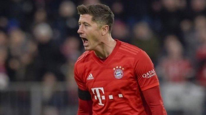 Chelsea Vs Bayern Muenchen, Lewandowski Samai Rekor Gol Tandang Cristiano Ronaldo, Ini Jumlahnya