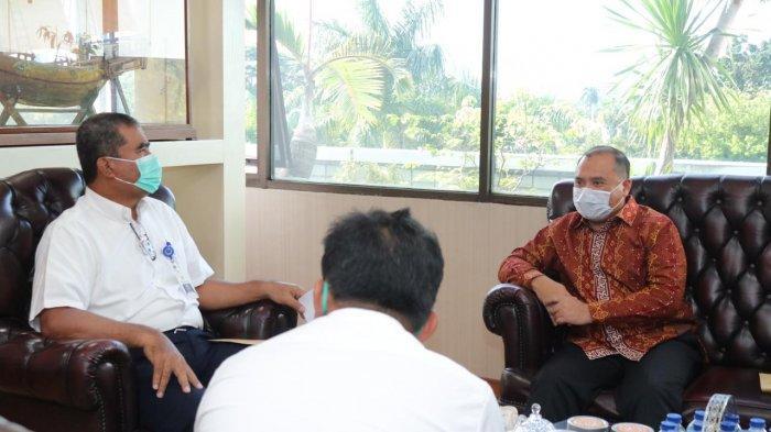 Gubernur Bangka Belitung Perjuangkan Pengembangan Pangkalbalam, Lakukan Audiensi dengan Kemenhub