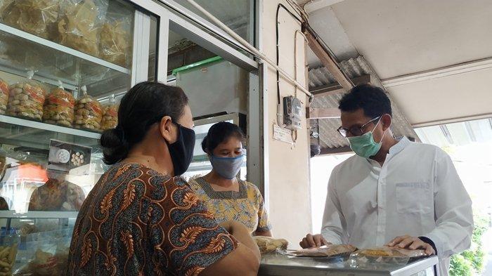 Sandiaga Uno Beri Semangat UMKM Belitung: Jangan Mau Dipecah Belah oleh Pandemi, Ayo Bangkit!