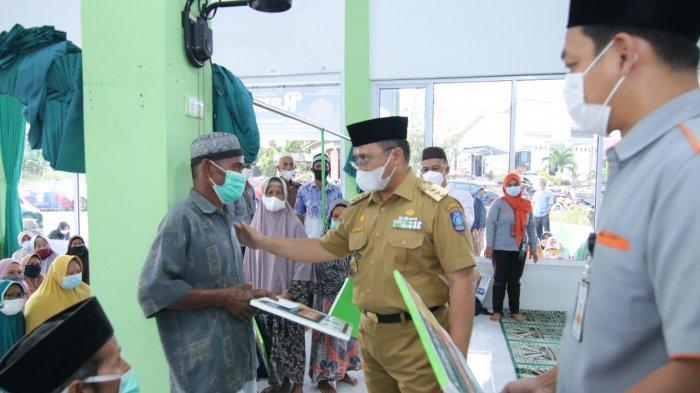 Safari Ramadan Gubernur Bangka Belitung, 247 Mustahiq Terima Santunan