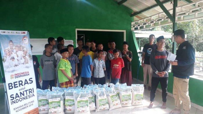 ACT Salurkan Beras ke Pondok Pesantren Hidayatullah Desa Teru