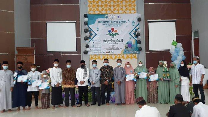 Ramadan Ceria Bersama Anak Yatim dan Dhuafa oleh Bidik Misi Bangka Belitung