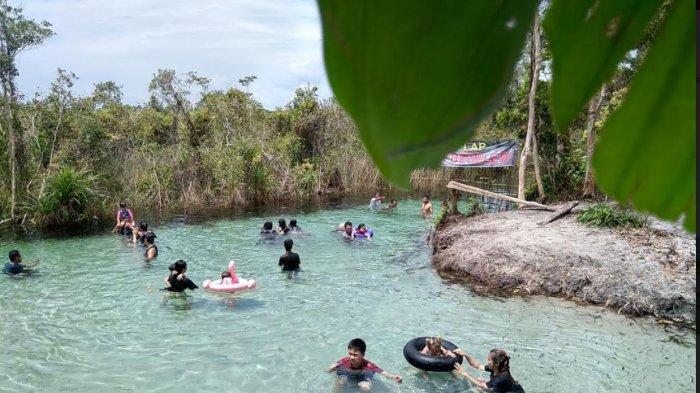 AEK Lelap Bedelew Mutiara Wisata Utara Pulau Bangka