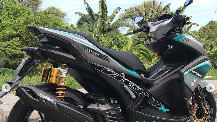 Otomotif: Yamaha Aerox Disulap Racing, Bak Motor Balap Tim Petronas Yamaha SRT MotoGP
